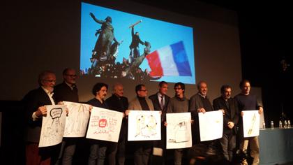 Atentados en par s y homenajes en espa a enero de 2015 ambassade de france en espagne - Oficina turismo paris en madrid ...