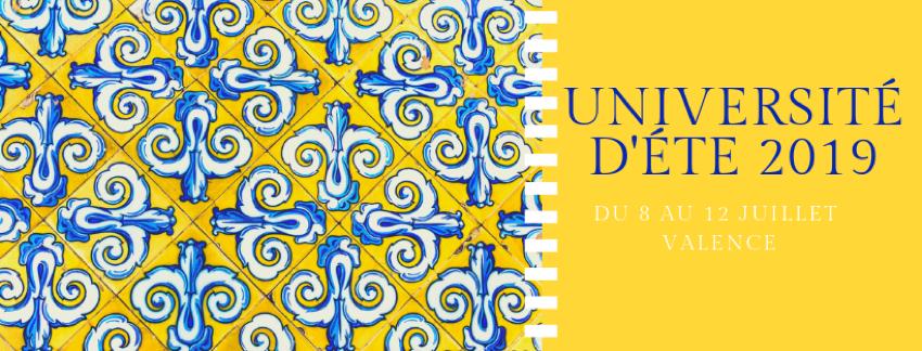 Resultat d'imatges de UNIVERSITE D'ETE INSTITUT FRANÇAIS