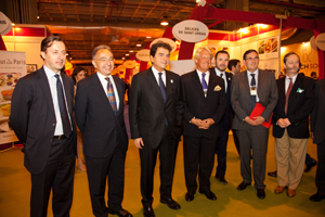 Salon international club de gourmets ambassade de france - Chambre de commerce franco espagnole ...