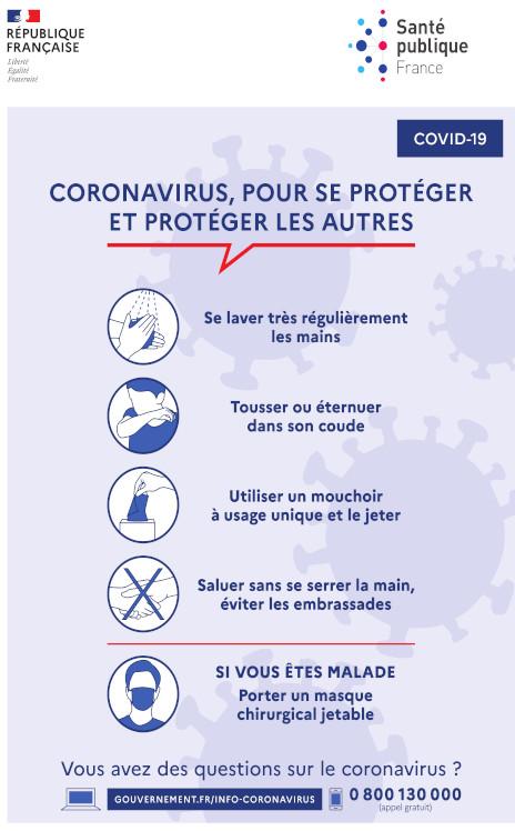 Covid-19, informations Coronavirus - Ambassade de France en ...