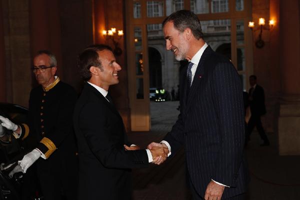 El Presidente De La Republica Emmanuel Macron Visito Espana El 26 De Julio Ambassade De France En Espagne Embajada De Francia En Espana