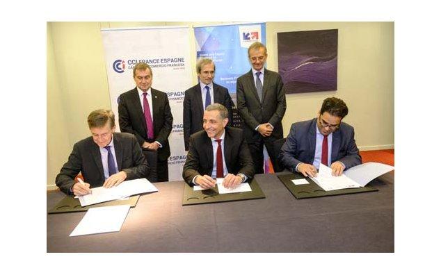 Signature de conventions de partenariat ambassade de - Chambre de commerce espagnole en france ...